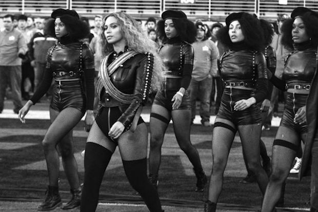 Okay, ladies, now let's get in formation!